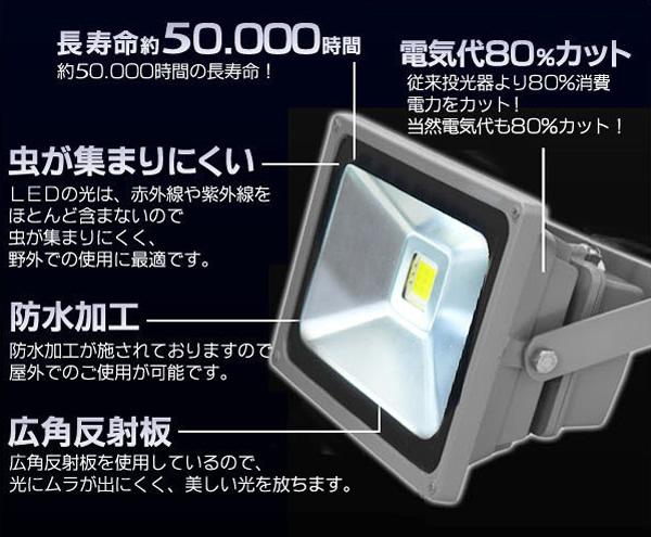 LED電飾 LED照射ライト スポットライト イルミネーション